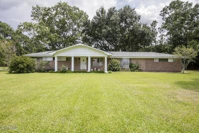 Church Point Single Family Home For Sale: 8910 Church Point Hwy