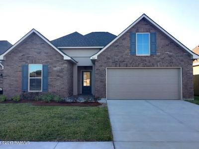 broussard Single Family Home For Sale: 308 Cascade Water Lane