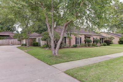 Lafayette Single Family Home For Sale: 119 Belle Grove Boulevard