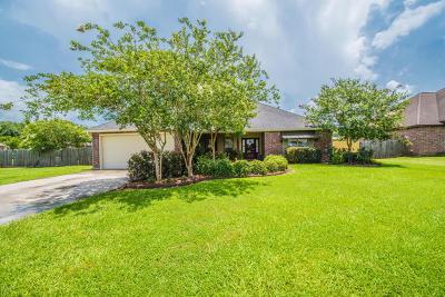 Duson Single Family Home For Sale: 118 Morganwood Lane
