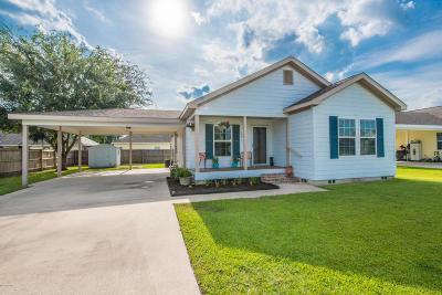 Duson Single Family Home For Sale: 121 Stoneburg Drive