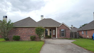 Youngsville Single Family Home For Sale: 2102 Bonin Road