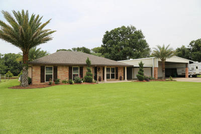 St. Martinville Single Family Home For Sale: 4905 Main Hwy