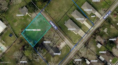 Iberia Parish Residential Lots & Land For Sale: Helen Drive