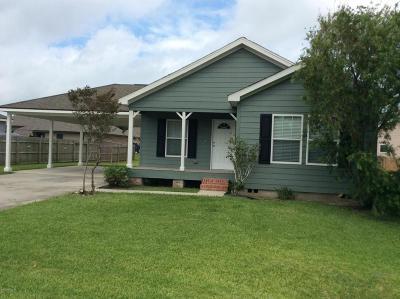 Duson Single Family Home For Sale: 103 Stoneburg Drive