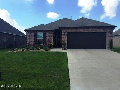 Acadiana Cove Single Family Home For Sale: 127 Timber Edge Drive