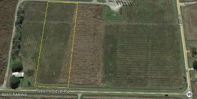 Crowley Residential Lots & Land For Sale: Tract 6-A4 Roberts Cove Road (La Hwy. 98)