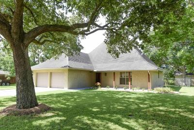 New Iberia Single Family Home For Sale: 217 Wilree Drive