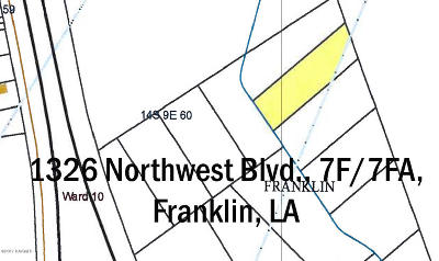 St Mary Parish Commercial Lots & Land For Sale: 1326 Northwest Blvd. 7f/7fa