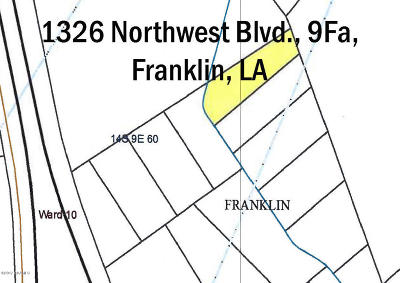 St Mary Parish Commercial Lots & Land For Sale: 1326 Northwest Blvd. 9fa