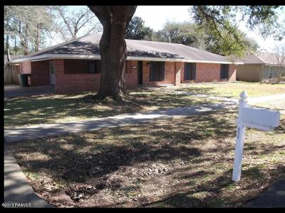 Broussard Rental For Rent: 411 Ducote