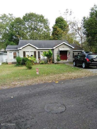 Abbeville Single Family Home For Sale: 105 E Oak Street