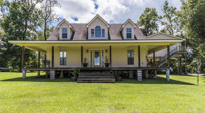 Maurice Single Family Home For Sale: 7590 Baudoin Road