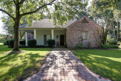 Opelousas Single Family Home For Sale: 3211 Ashwood Drive
