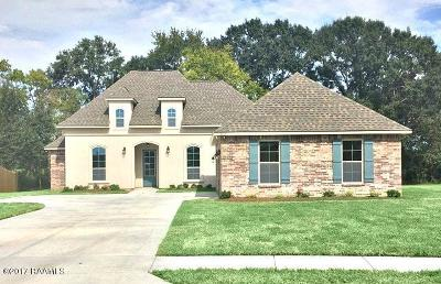 broussard Single Family Home For Sale: 303 Victoria Lights Lane