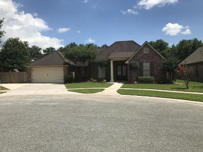 Lafayette Parish Single Family Home For Sale: 103 Windchase