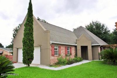 New Iberia Single Family Home For Sale: 322 Steeplechase