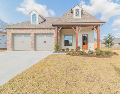Broussard Single Family Home For Sale: 411 Easy Rock Landing Drive