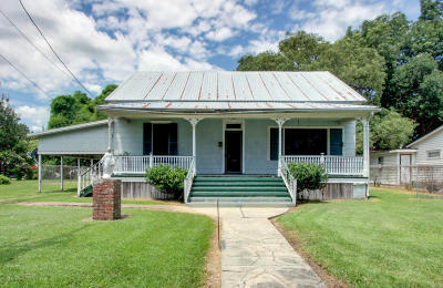 Abbeville Single Family Home For Sale: 408 S Louisiana Avenue