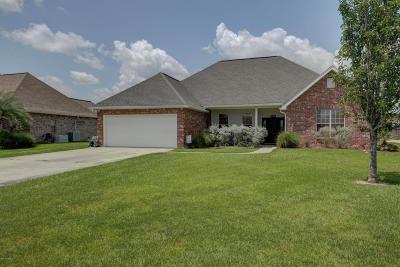 Duson Single Family Home Active/Contingent: 222 Allegro Avenue