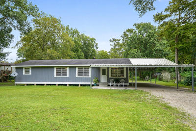 St. Martinville Single Family Home For Sale: 1267 Bayou Portage