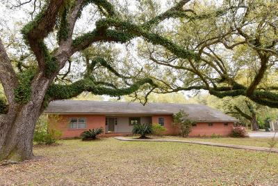 New Iberia Single Family Home For Sale: 104 Myrtle Oak Avenue