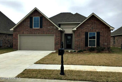 Lafayette Parish Single Family Home For Sale: 300 Cascade Water Lane