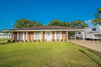 Mamou Single Family Home For Sale: 220 Rue Jolie Blonde