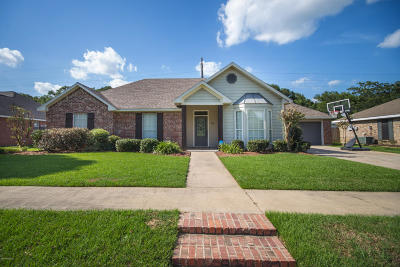 Carencro Single Family Home For Sale: 403 Rue Colombe