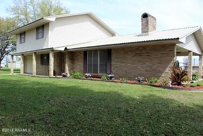 Eunice Single Family Home For Sale: 2295 Perchville Road