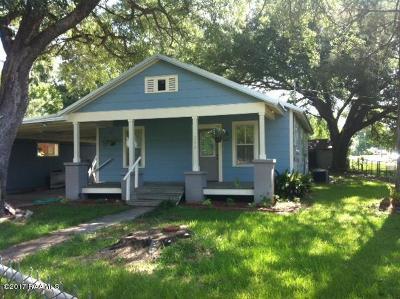 Arnaudville Single Family Home For Sale: 206 St. Landry Street