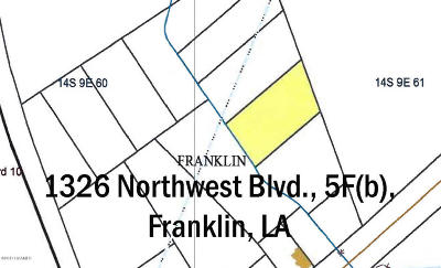 St Mary Parish Commercial Lots & Land For Sale: 1326 Northwest Blvd. 5f(B)