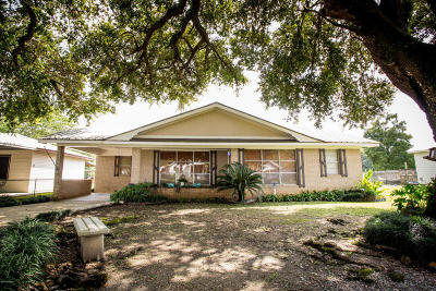 St. Martinville Single Family Home For Sale: 1088 St Rita Hwy