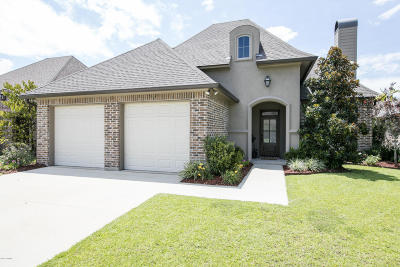 Broussard Single Family Home For Sale: 110 Spring Cypress Drive