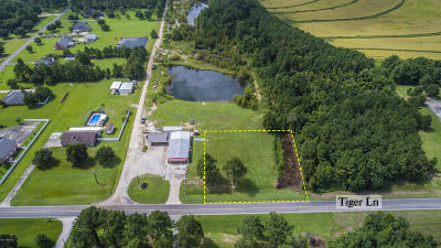Acadia Parish Commercial Lots & Land For Sale: Tbd Tiger Lane