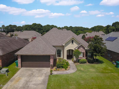 Broussard Single Family Home For Sale: 205 Masters Drive