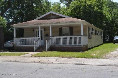 New Iberia Single Family Home For Sale: 407 Robertson