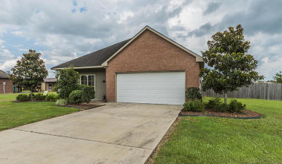 Abbeville Single Family Home Active/Contingent: 9003 Red Rose Lane