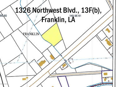 St Mary Parish Commercial Lots & Land For Sale: 1326 Northwest Blvd. 13f(B)