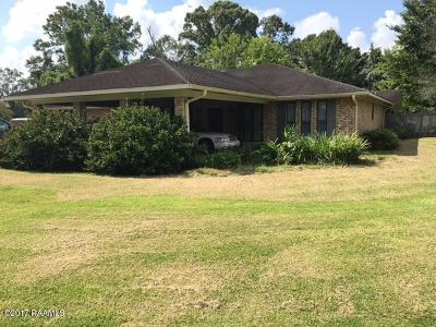 Opelousas Single Family Home For Sale: 402 Abdalla Boulevard