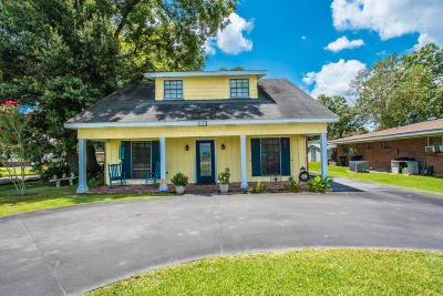 New Iberia Single Family Home For Sale: 1402 Parkview Drive