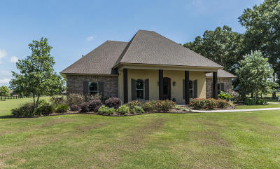 St Martinville, Breaux Bridge, Opelousas Single Family Home For Sale: 104 Saddle Drive