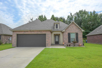 Carencro Single Family Home For Sale: 404 Magnolia Knee