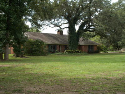 Abbeville Single Family Home Active/Contingent: 8109 Meadow Lane