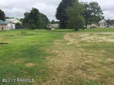 St Martinville, Breaux Bridge, Opelousas Residential Lots & Land For Sale: 1130 S Union