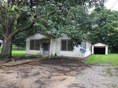 Eunice Single Family Home For Sale: 340 N Saint George Avenue