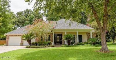 Breaux Bridge Single Family Home For Sale: 1012 Bear Creek Circle