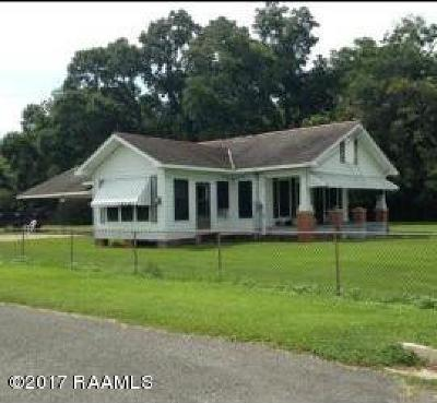 Breaux Bridge Single Family Home For Sale: 1037 Potier Drive