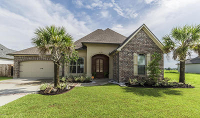 Youngsville Single Family Home For Sale: 302 Sabal Palms Row