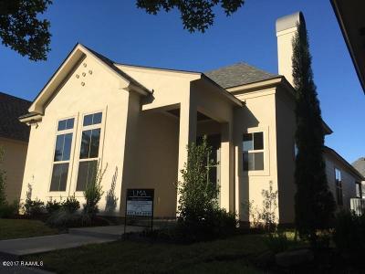 Lafayette Single Family Home For Sale: 405 S Montauban Drive